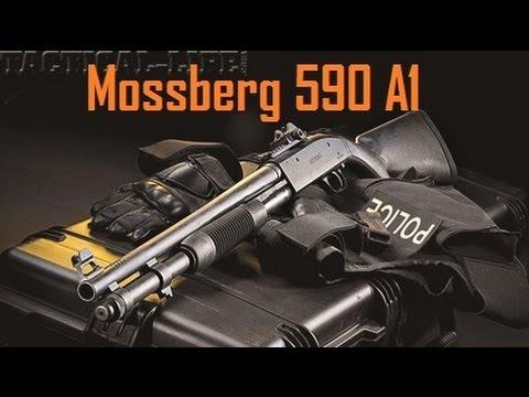 Mossberg 590A1 Blackwater Shotgun