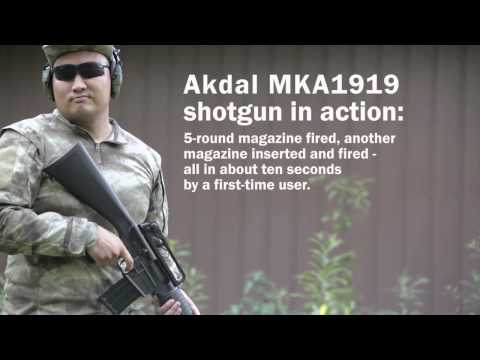 Rapid Reloads with Akdal MKA 1919 Shotgun