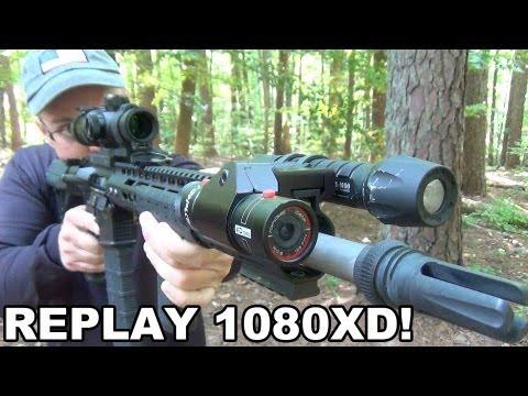 RePlay XD1080 - POV Camera for Firearms