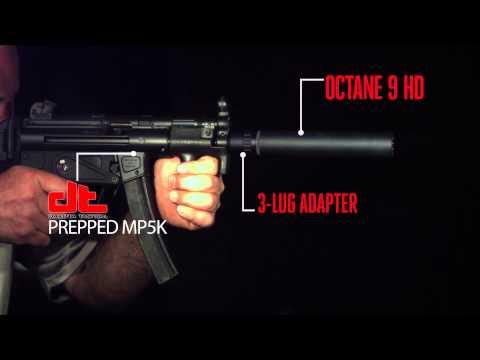 Silencerco Octane 9 HD MP5 Mag Dump
