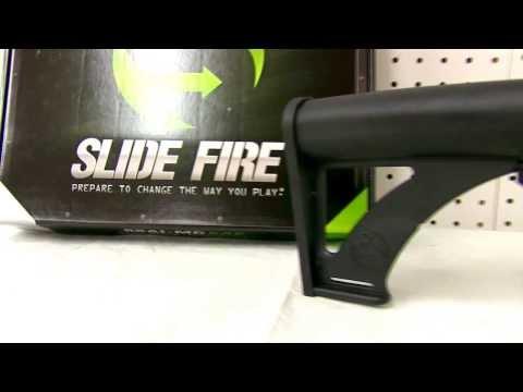 Slide Fire Solutions Bump Fire Stocks for Saiga