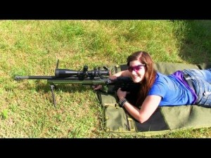 Precision Rifle Training for Destinee