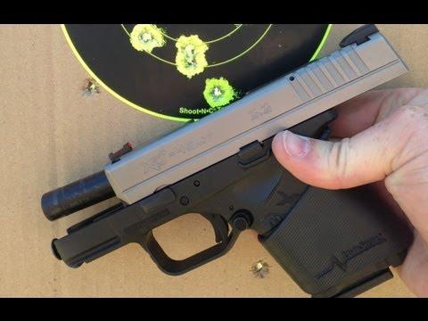 Springfield XDs 45 with Limbsaver Handgun Sleeve
