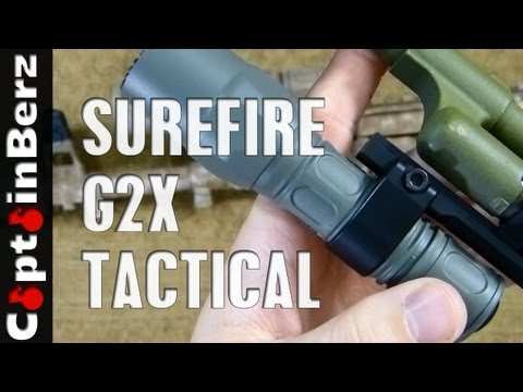 Surefire G2X Tactical Flashlight Review