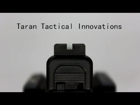 Taran Tactical Innovations Glock Ultimate Fiber Optic Sight System