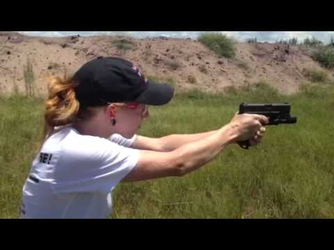 Trigger Control and Breathing While Shooting Steel