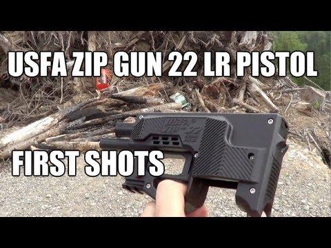 USFA Zip Gun 22 LR Pistol - First Shots