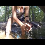 1911 Pistol Underwater Slow Motion Shoot