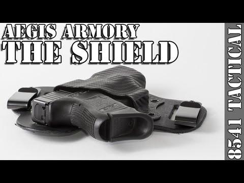 Aegis Armory Shield Hybrid Kydex Holster Review