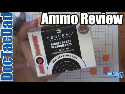 Ammo Review - Federal Auto Match .22LR