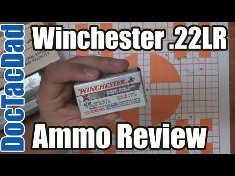 Ammo Review - Winchester 36gr 22LR Hollow Point