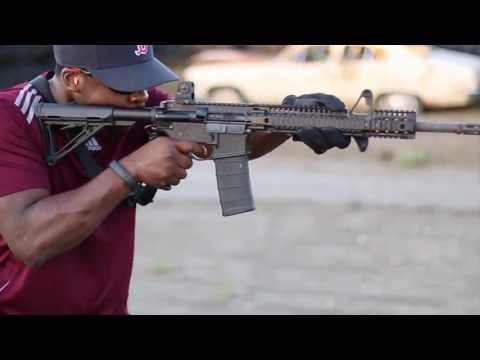 AR-15 Shooting Review - Daniel Defense DDM4 V1