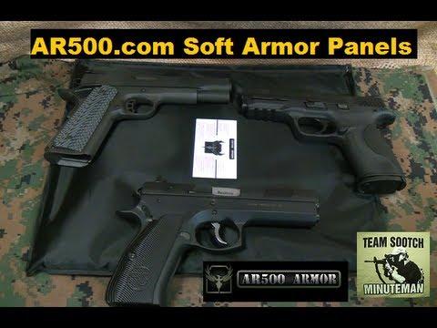 AR500 Armor Soft Body Armor Test