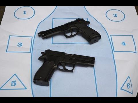 Beretta M9 vs SIG P226