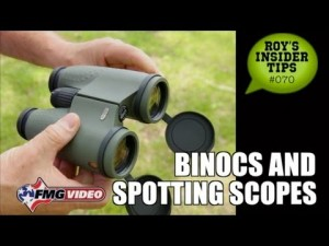 Binoculars and Spotting Scopes for Handgunning