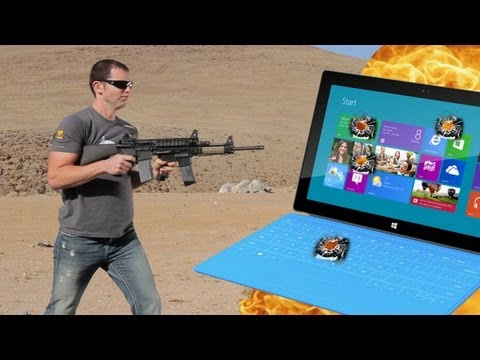 M4 Carbines vs Microsoft Surface