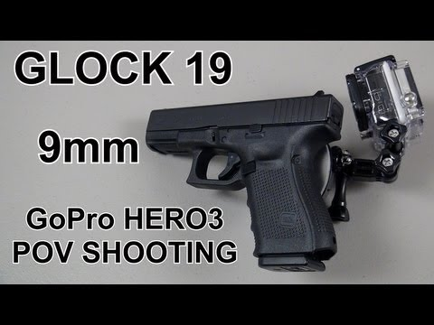 Glock 19 POV Shooting