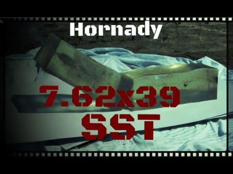 Hornady 7.62x39 SST Ballistics Gel Test