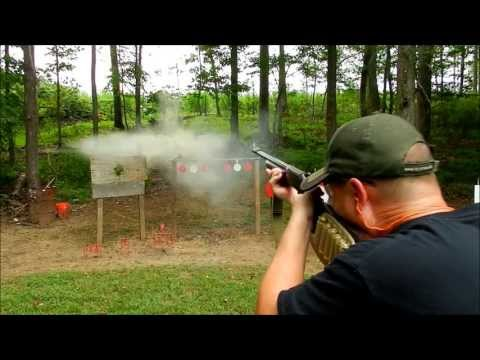 H&R 20 Gauge Rifled Slug Shooting