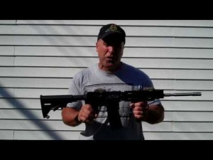 Inexpensive AR15 Rifle