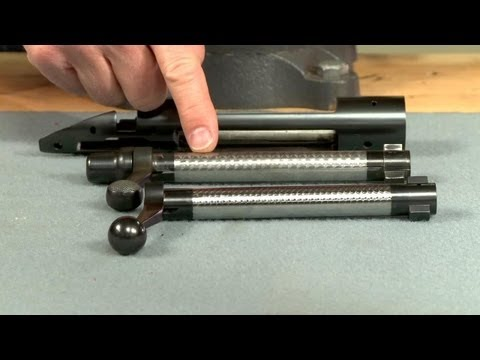 Jeweling a Rifle Bolt