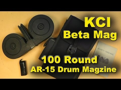 KCI AR-15 100 Round Magazine