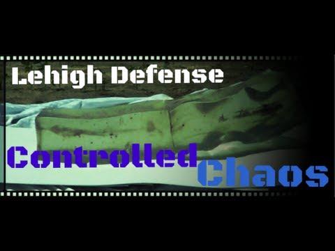 Lehigh Defense 45gr 223 Remington Controlled Chaos Ballistics Gel Test