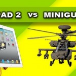 M134 Minigun vs iPad2