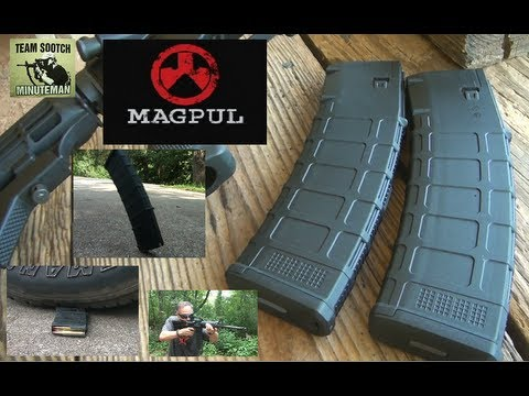 Magpul 40 Round PMAG Review and Torture Test