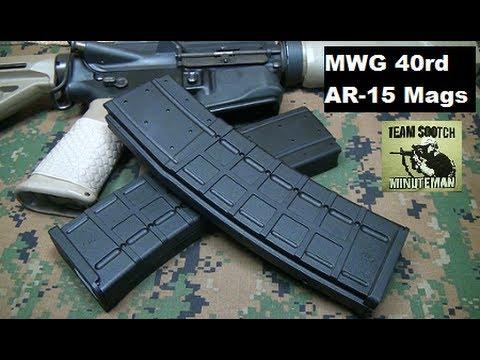 MWG IK-520 40 Round AR-15 Magazine Review