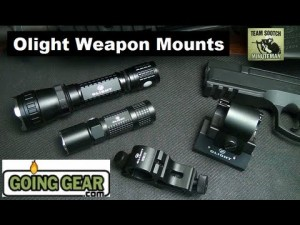 Olight Flashlight Weapon Mounts