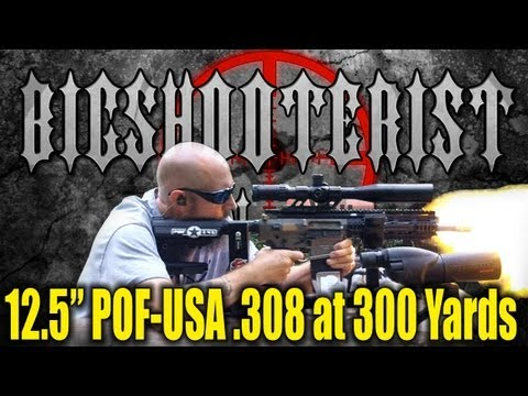 POF-USA P308 12.5 Inch Barrel at 300 Yards