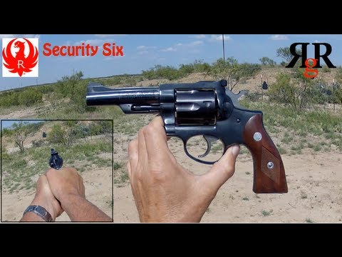 Ruger Security Six Range Review