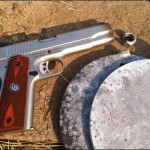 Ruger SR1911 vs Steel Targets