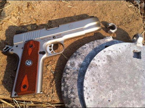 Ruger SR1911 vs Steel Targets