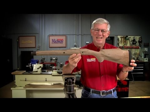 Sanding a Rifle Stock
