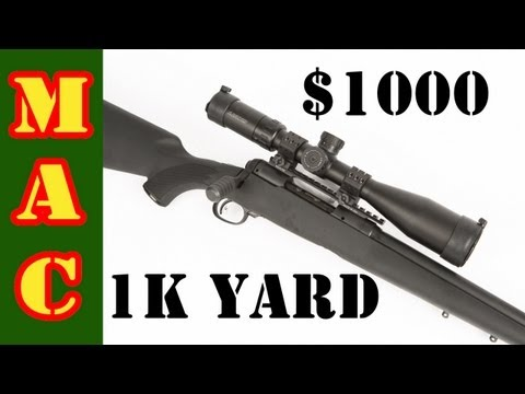 Savage Model 10 - 1000 Dollar 1000 Yard Rifle