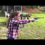 Shanni Shoots the Ruger RedHawk