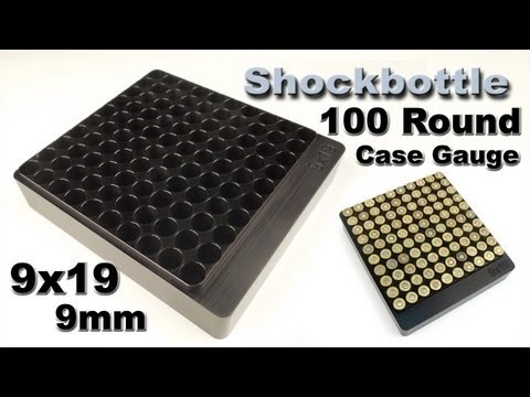 Shockbottle 100 Round Case Gauge
