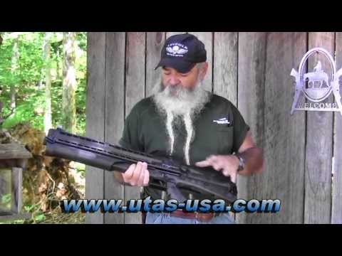 Shooting the UTAS UTS-15 12 Gauge Bullpup Pump-Action Shotgun