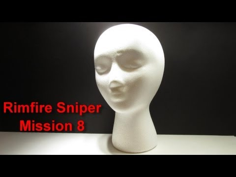 Sniper Mission - Shoot Cigarette from Clowns Mouth