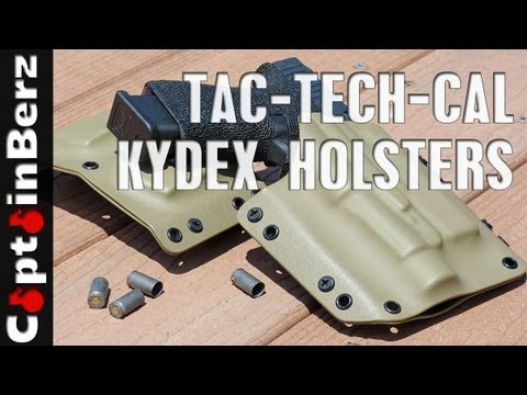 Tac-Tech-Cal Kydex Holster Review
