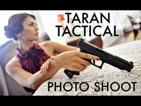 Taran Tactical Photo Shoot with Jessica Hook