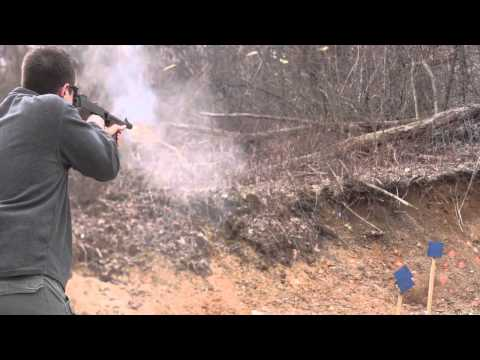 Thompson Submachine Gun Tracer Fire