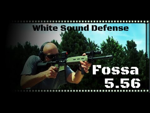 White Sound Defense FOSSA-556 AR-15 Muzzle Device
