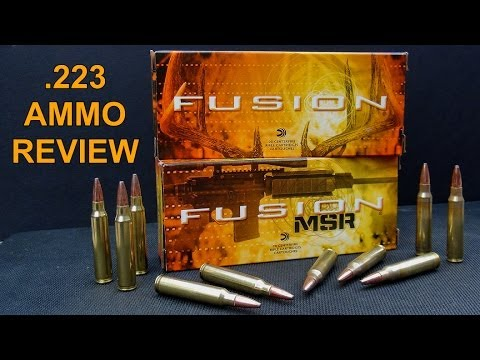 Ammo Review – Federal Fusion and Fusion MSR