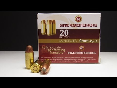 Ammo Test - DRT 9mm Penetrating Frangible HP