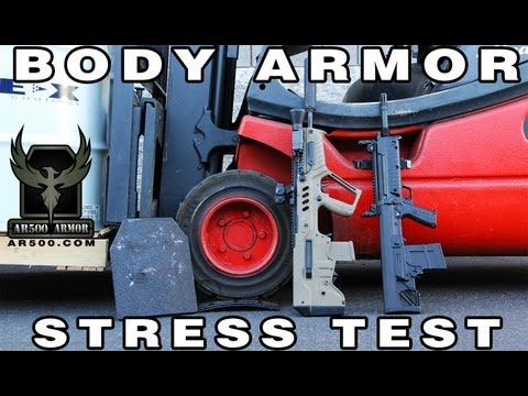 AR500 Armor Body Armor Stress Test