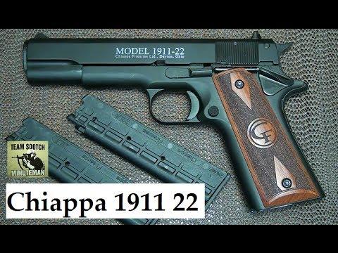 Chiappa 1911-22 Pistol Review