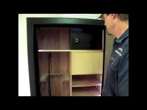 Custom Gun Safe from Parker's Safes and Vaults